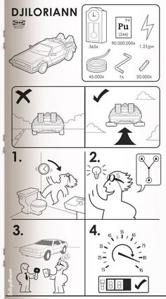 Hilarious Sci-Fi Ikea Building Instructions