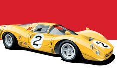 Ferrari 330 P3 Poster