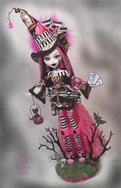 Monster High Witch Halloween Goth Collector Art Doll Altered OOAK Custom Passion | eBay