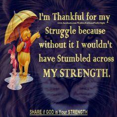 My struggles