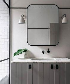 Idéia armário do banheiro para a suite.