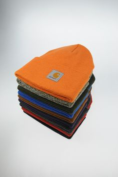 Carhartt Watch Beanies : I'll take one of each thank you.