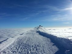 Ski above the clouds! Gudauri, Georgia. #mountains #winter #paradise #stairway #to #heaven #caucasus #resort #travel