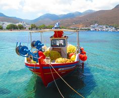 Amorgos Fishing Boat | Flickr - Photo Sharing!