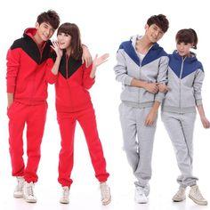 Par marea edición de Corea del sur en otoño e invierno el suéter nuevo abrigo, más el tamaño de la ropa ropa deportiva casual