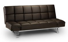 The Manhattan Sofa Bed is an easy adjustable sofa bed available in a choice of Brown or Black - http://www.furn-on.com/manhattan-sofa-p-117005.html