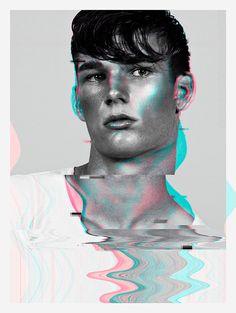 Sam Skinner at Fivetwenty Model Management captured by the lens of Ian Chang in…