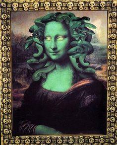 Medusa Lisa Bild