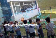 Desenhando um Jardim na Escola!