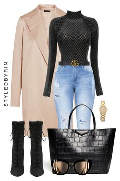"""""""S T Y L E D B Y R I N"""" by styledbyrin ❤ liked on Polyvore featuring The Row, Gucci and Givenchy"""