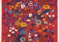 Pattern by Gocken Jobs Fabric Patterns, Flower Patterns, Color Patterns, Textiles, Pretty Patterns, Surface Pattern Design, Painting & Drawing, Printing On Fabric, Screen Printing