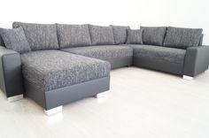 u BETTSOFA SchlafCOUCH Sofa COuch Wohnlandschaft polsterECKe Bettfunktion nr1587