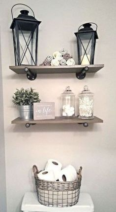 Easy diy rustic home decor ideas on a budget .- Easy diy rustikale Wohnkultur Ideen mit kleinem Budget – DIY und Selber Machen Deko Easy diy rustic home decor ideas on a budget decor - Diy Bathroom, Farmhouse Decor, Rustic Diy, Diy Home Decor, Bathroom Farmhouse Style, Cheap Home Decor, Apartment Decor, Bathroom Decor, Rustic House