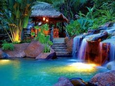 springs resort & spa at arenal fortuna, costs rica.