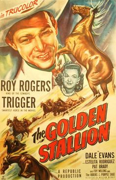 1949 movie posters | the golden stallion 1949 item ci2706 1 your selected format size ...
