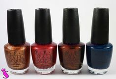 Showroom by Creative-Pink: OPI Nagellack - Germany Collection, Euro Centrale Collection & Shatter Lacke