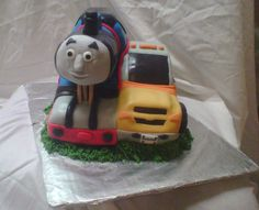 Thomas the Train/Rugged Riggz birthday cake.