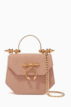 Shop Okhtein Neutral Light-Beige Aziza Leather Shoulder Bag for Women Mk Handbags, Purses And Handbags, Fashion Bags, Women's Fashion, Luxury Fashion, Accesorios Casual, Cute Purses, Cute Bags, Luxury Bags