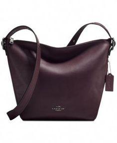 c455877128cd COACH  Small Crossbody Dufflette (Oxblood).  Pradahandbags Prada Handbags