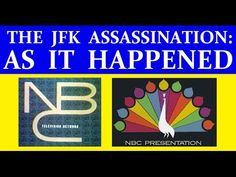 JFK'S ASSASSINATION (NBC-TV COVERAGE) (PART 1) [WITH RARE FOOTAGE ADDED] - YouTube