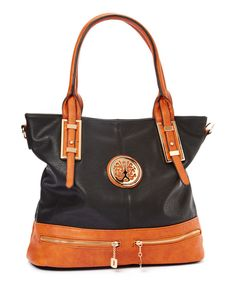 Look what I found on #zulily! MKF Collection Black Isabelle Tote by MKF Collection #zulilyfinds