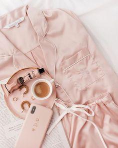 ❤ Click image to see FULL collection ❤ Homebodii Personalised Monogram Pyjamas flat lay photo credit Jasmine Dowling. Pajama sets for women Monogrammed Pajamas, Personalized Pajamas, Pajamas For Teens, Cute Pajamas, Comfy Pajamas, Benefit Cosmetics, Satin Pyjama Set, Pajama Set, Womens Fashion Online