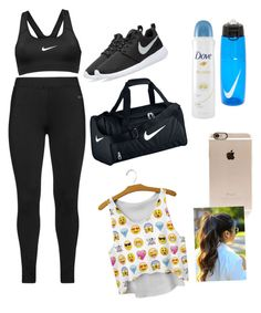 """""""Sport"""" by litllejade ❤ liked on Polyvore featuring beauty, NIKE, Studio, Incase and Dove"""