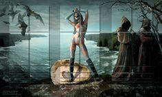 George Grie - The Birth of Venus: Gods and Heroes series