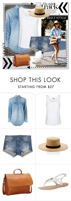 """""""Chrissy Teigen 6"""" by tris-prior-eaton-00 ❤ liked on Polyvore featuring Yves Saint Laurent, adidas, Flying Monkey, Janessa Leone, Latico and Dorothy Perkins"""