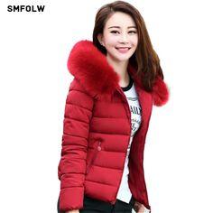 24.92$  Buy here - Winter Jacket Women 2017 Fashion New Winter Jacket Women short paragraph Nagymaros collar women padded coat warm female coat  #bestbuy