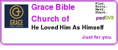 #UNCAT #PODCAST  Grace Bible Church of Oxford    He Loved Him As Himself    LISTEN...  http://podDVR.COM/?c=23d8a11d-4c6a-cae3-97a8-24cfe4593d88