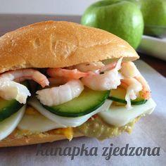 #shrimp kanapka zjedzona: Drugie śniadanie z krewetkami