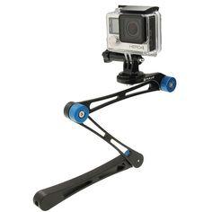 2017 Newest Folding Selfie Stick + Mini Monopod Stabilizer Grip for Go – Best For Girls