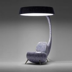 Light Up Chair By Ontwerpers. Inspired By The Anglefish Head Equipped With  A Light That