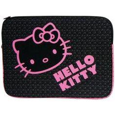"""Hello Kitty 9""""-11"""" Notebook Sleeve (black)"""