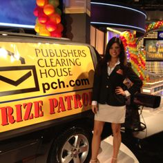 The Prize Patrol on set of Family Feud!