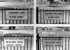 apartheid signs - Google Search
