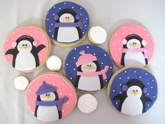 penguin cookies from A Little Sweet Something Bakery