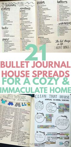 Best BULLET JOURNAL HOME IDEAS. Bullet journal flylady and konmari decluttering inspired cleaning schedules and home organization pages. House maintenance projects, improvements, and renovation drawing example pages. Bullet Journal How To Start A, Bullet Journal Spread, Bullet Journal Layout, Bullet Journal Inspiration, Bullet Journals, Flylady, Konmari, Bullet Journal Minimalist, Sweet Home