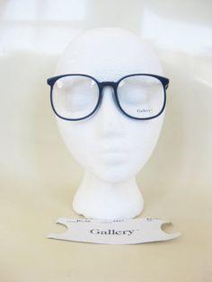 Vintage 1980s Round Eyeglasses Dark Navy Blue Black 80s Womens Óculos  Redondos, Hipster Indie, 456cf2b9c1