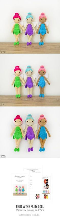 Felicia The Fairy Doll Amigurumi Pattern