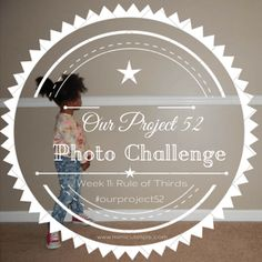 Our Project 52 Photo Challenge. Week 11: Rule of Thirds a Photography tip.
