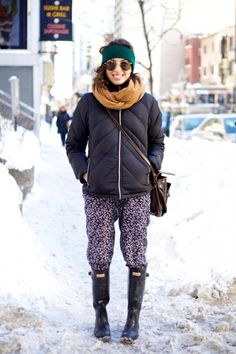 Winter Storm Street Style Snaps From Montreal / Photo by Sarah Mongeau-Birkett