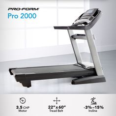 Fitness is rarely achieved alone. When we partner up with a friend, we find the motivation to do more. Consider the Pro 2000 your new best friend.