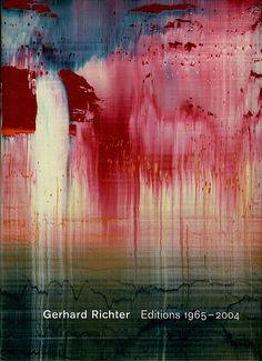 Gerhard Richter.                                                                                                                                                                                 Plus