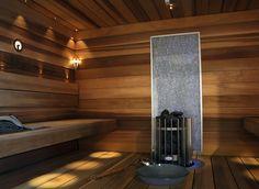 Helo Decon Arkk Line -mittatilauslauteilla ylellisyyttä saunaan.