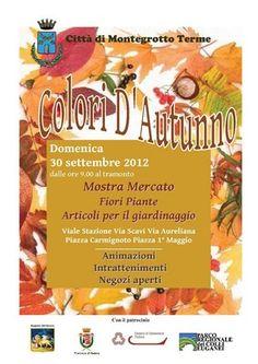 """Manifestazione """"Colori d'Autunno"""" a Montegrotto Terme http://www.hotel-padova.com/eventi-padova-tornano-colori-autunno-montegrotto/"""