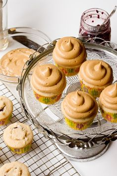 Peanut Butter and Jelly Cupcakes | Keep It Sweet Desserts