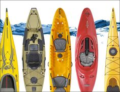 We've rounded up the 5 best kayaks to take you out on lake or whitewater for some summer adventure.