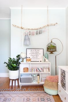 » I SPY DIY DESIGN | Baby Girl Nursery Makeover